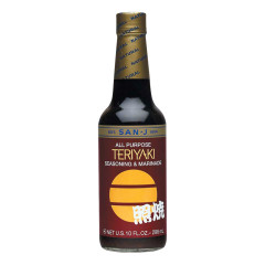 SAN J TERIYAKI SAUCE 10 OZ BOTTLE