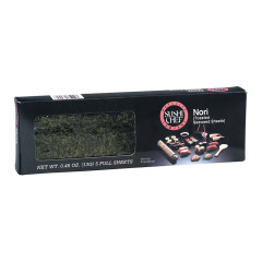 SUSHI CHEF NORI TOASTED SEAWEED SHEETS 0.45 OZ