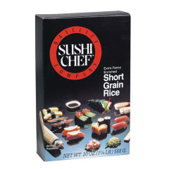 SUSHI CHEF SHORT GRAIN RICE 20 OZ