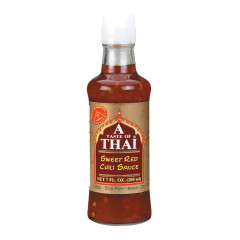 TASTE OF THAI SWEET RED CHILI SAUCE 7 OZ