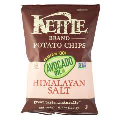 KETTLE POTATO CHIPS HIMALAYAN SALT WITH AVOCADO OIL POTATO CHIPS 4.2 OZ BAG