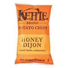 KETTLE HONEY DIJON POTATO CHIPS 5 OZ BAG