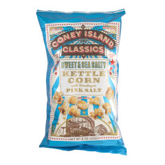 CONEY ISLAND CLASSICS SWEET AND SALTY KETTLE CORN 8 OZ BAG