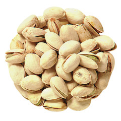 PISTACHIOS IN SHELL DRY ROASTED UNSALTED 21/25