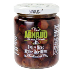 ARNAUD NICOISE OLIVES 9.2 OZ JAR