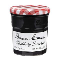 BONNE MAMAN BLACKBERRY PRESERVES 13 OZ JAR