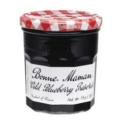BONNE MAMAN WILD BLUEBERRY PRESERVES 13 OZ JAR