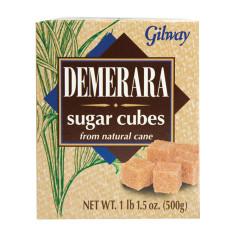 GILWAY DEMERARA SUGAR CUBES 17.5 OZ