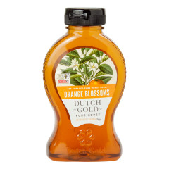 DUTCH GOLD HONEY FROM ORANGE BLOSSOMS 16 OZ BOTTLE