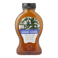 DUTCH GOLD HONEY FROM BLUEBERRY BLOSSOMS 16 OZ BOTTLE
