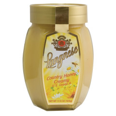 LANGNESE CREAMY COUNTRY HONEY 17.6 OZ JAR