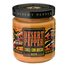 DESERT PEPPER CHILE CON QUESO 16 OZ JAR