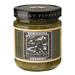 DESERT PEPPER MEDIUM SALSA DEL RIO 16 OZ JAR