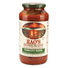 RAO'S TOMATO BASIL SAUCE 24 OZ JAR