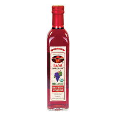 RAO'S ORGANIC RED WINE VINEGAR 16.9 OZ BOTTLE