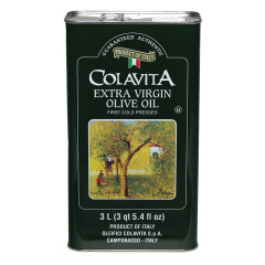 COLAVITA EXTRA VIRGIN OLIVE OIL 101 OZ TIN