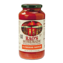 RAO'S FOUR CHEESE SAUCE 24 OZ JAR