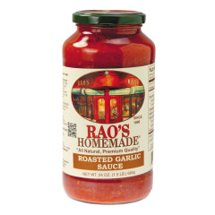 RAO'S ROASTED GARLIC SAUCE 24 OZ JAR