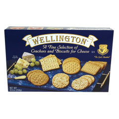 WELLINGTON ASSORTED CRACKERS 8.8 OZ BOX