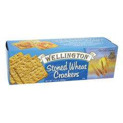 WELLINGTON STONED WHEAT CRACKERS 10.6 OZ BOX