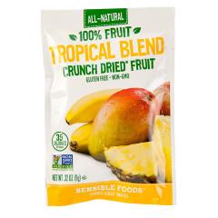 SENSIBLE FOODS TROPICAL BLEND CRUNCH DRIED FRUIT 0.32 OZ BAG