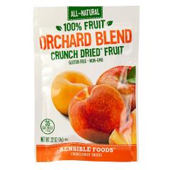 SENSIBLE FOODS ORCHARD BLENDS CRUNCH DRIED FRUIT 0.32 OZ BAG