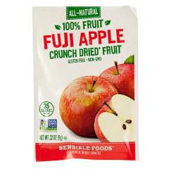 SENSIBLE FOODS FUJI APPLE CRUNCH DRIED FRUIT 0.32 OZ BAG