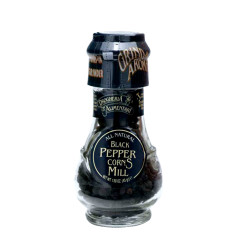 D&A SPICE MILLS BLACK PEPPERCORNS 1.6 OZ