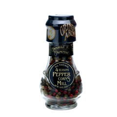 D&A SPICE MILLS FOUR SEASONS PEPPERCORNS 1.24 OZ