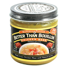 BETTER THAN BOUILLON CHICKEN 8 OZ JAR