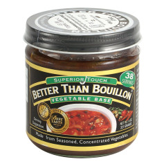 BETTER THAN BOUILLON VEGETABLE 8 OZ JAR