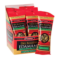 SEAPOINT FARMS 100 CALORIE LIGHTLY SALTED DRY ROASTED EDAMAME 1.58 OZ BAG