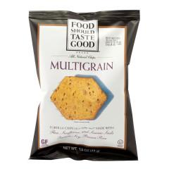 FOOD SHOULD TASTE GOOD MULTIGRAIN TORTILLA CHIPS 1.5 OZ BAG