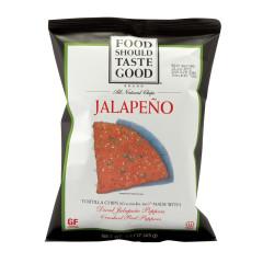 FOOD SHOULD TASTE GOOD JALAPEÑO TORTILLA CHIPS 1.5 OZ BAG