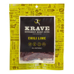 KRAVE CHILI LIME BEEF JERKY 2.7 OZ BAG