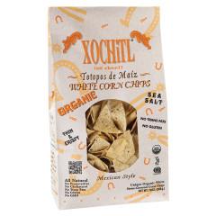 XOCHITL PREMIUM WHITE TORTILLA CHIPS WITH SEA SALT 12 OZ BAG