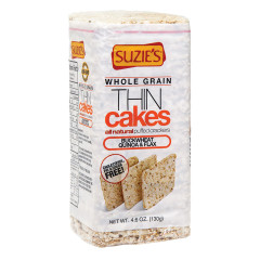 SUZIE'S WHOLE GRAIN BUCKWHEAT THIN CAKES 4.6 OZ