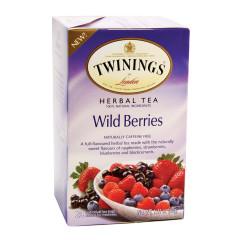 TWININGS WILD BERRIES TEA 20 CT BOX