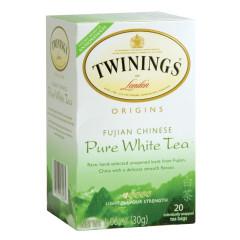TWININGS PURE WHITE TEA 20 CT BOX