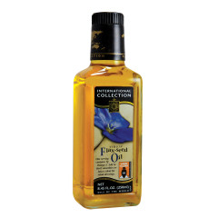 INTERNATIONAL COLLECTION FLAX SEED OIL 8.45 OZ BOTTLE
