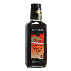 INTERNATIONAL COLLECTION FIERY TOASTED SESAME OIL 8.45 OZ BOTTLE