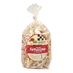 AL DENTE FIESTA TRI-COLOR FETTUCCINE PASTA 12 OZ BAG