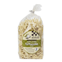 AL DENTE GARLIC PARSLEY FETTUCCINE PASTA 12 OZ BAG