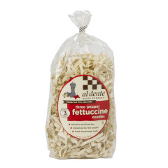 AL DENTE THREE PEPPERCORN FETTUCCINE PASTA 12 OZ BAG