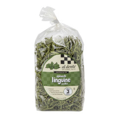 AL DENTE SPINACH LINGUINE PASTA 12 OZ BAG