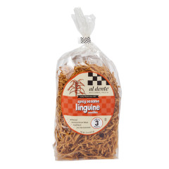 AL DENTE SPICY SESAME LINGUINE PASTA 12 OZ BAG