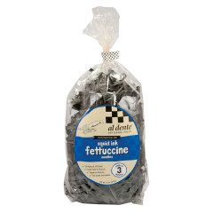 AL DENTE SQUID INK FETTUCCINE PASTA 12 OZ BAG