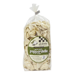 AL DENTE GARLIC AND HERB PAPPARDELLE PASTA 12 OZ BAG