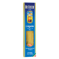 DECECCO LINGUINE PASTA 16 OZ BOX # 7