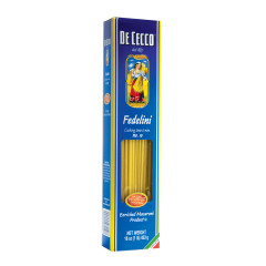 DECECCO FEDELINI PASTA 16 OZ BOX # 10
